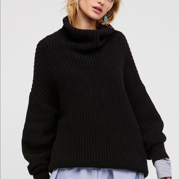Free People Sweaters Swim Too Deep Sweater Poshmark